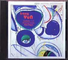 Isang Yun 1917-1995 Symphony No. 1 & 3 Toura ukigaya CPO cd sinfonie