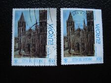 VATICAN - timbre yvert et tellier n° 960 x2 obl (A28) stamp