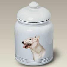 Bull Terrier Ceramic Treat Jar Tb 34099