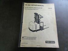 Prime-Mover OE-30C Electric Order Selector Repair Manual   April 1989