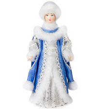 "12"" Snow Maiden Collectible Doll. Snow Queen / Snegurochka Figurine. Ded Moroz"