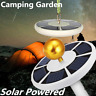 42 LED Solar Powered Waterproof Flag Pole Night Light Powerful Super Bright