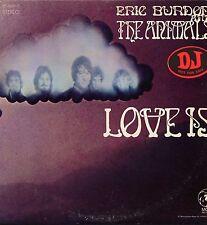 "ERIC BURDON & THE ANIMALS ""LOVE IS"" ORIG US 1968 2 LPS PROMO Y/LBL"