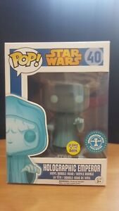 funko pop. Star Wars 40. Holographic Emperor (GiT)