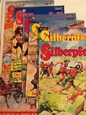 7 x SILBERPFEIL - Der junge Häuptling Comic Konvolut Zustand 2