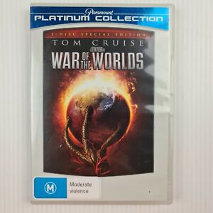 War Of The Worlds DVD - 2 Disc Platinum Collection - Tom Curise - TRACKED POST