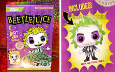 BEETLEJUICE FUNKO'S CEREAL W/ POCKET POP! boxlunch exclusive funko tim burton