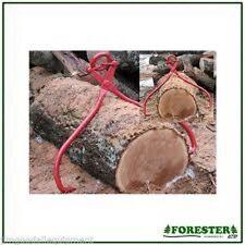 "Log & Tree Skidding Tong, 35"" Long, Jaw Opening 5 1/2""- 32"", High Carbon Steel"