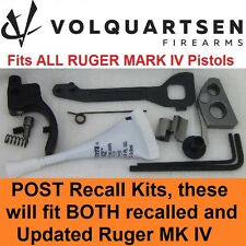 VOLQUARTSEN Ruger Mark IV Accurizing Kit w/Black Trigger MK 4 MKIV & 22/45 LITE
