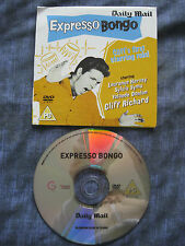 EXPRESSO BONGO Promo DVD. Daily Mail. NEW/UNPLAYED. Cliff Richard.