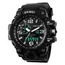 Men Quartz Analog Digital Watch Waterproof Shockproof Military Wristwatch