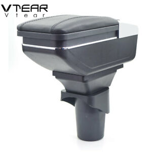 Vtear For Nissan micra/March armrest box central Store content box 2010-2016