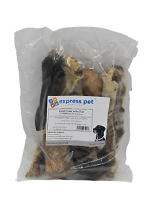 Goat Ears with Fur 100% Naturally Air Dried Dog Treat Chew