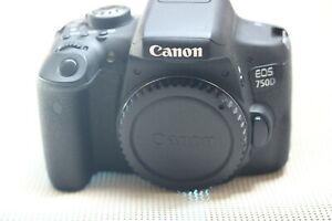 Canon EOS 750D 24.2MP Digital SLR Camera -WI-FI & NFC- Low shutter Count  Black