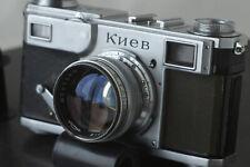 VERY RARE Soviet camera Kiev 2 1949 35 mm rangefinder Contax clone SN494852