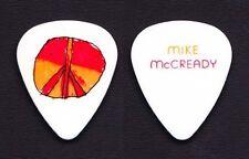 Pearl Jam Mike McCready Peace Sign White Guitar Pick - 2013 Lightning Tour