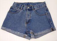 New PacSun Womens Denim Cut Off Jean Shorts High Rise Short Sizes XS - S
