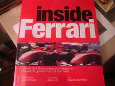 INSIDE FERRARI COLLECTOR BOOK