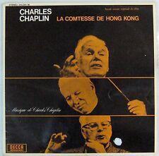 Charlie Chaplin 33 tours Comtesse Hong Kong 1967