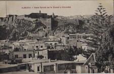 Tarjeta Postal. Almería. Vista Parcial de la ciudad y Alcazaba.