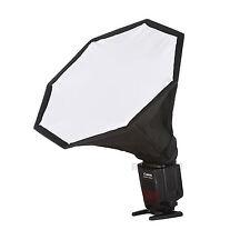 Meking speedlight/speedlite/hot-shoe flash mini octagon softbox 28cm / 11.02in