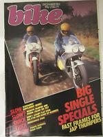 Bike Magazine December 1983 Honda CX605E BMW Monoshock Z900