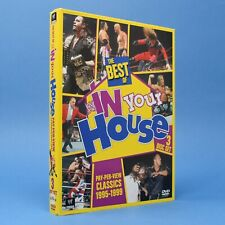 The Best Of WWF In Your House 3 Disc WWE DVD Set - Classic PPV Matches