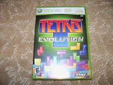 Tetris Evolution  (Xbox 360, 2007) NEW