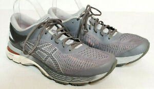 Asics Gel-Kayano 25 Shoes Womens 11.5 Gray Athletic Running Comfort Sneakers