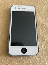 Apple iPhone 3GS White On Black For Parts