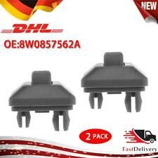 2X für Audi A1 A3 A4 A5 Q2 Q3 Q5 TT SEAT Halter Sonnenblende 8W0857562A Schwarz