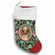 Poodle Christmas Stocking