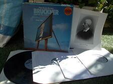 BRUCKNER: Symphonies n°3, 4 & 8 (first versions) > Frankfurt Inbal / Telefunken