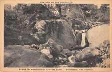 Monrovia California Canyon Park Scenic View Antique Postcard J70607
