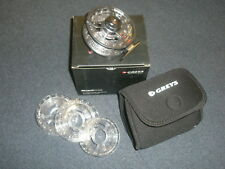 Greys QRS 5/6 - 7/8 Fly Reel inc. 4 spools + Neoprene Pouch Fishing tackle
