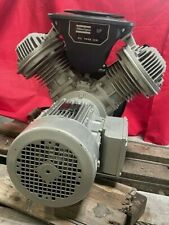 Atlas Copco Lf3 10s Lf3 10 3hp Oil Free Aluminum Piston Compressor Pump With Motor