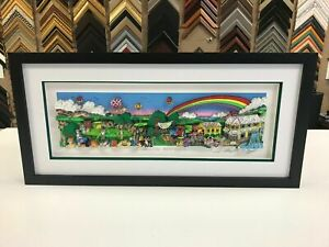 """Charles Fazzino """" A Hole In One Behind Bush 13 """"  3-D Artwork Signed & Numbered"""