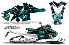 Polaris SKS Pro RMK Sled Decal Wrap Snowmobile Graphics Kit 06-10 NIGHTWOLF MNT
