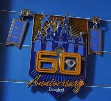 Disney Pins - DLR - Disneyland 60th Anniversary July 17, 2015 Jumbo Pi - LE 1000