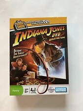 Hasbro 2008 INDIANA JONES DVD Adventure Family Game For Ages 8 & up ~~Open Box~~