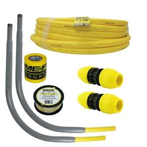Underground 1in IPS New Install Kit (1)1in x 100 ft. Pipe (2) 1in Couplers
