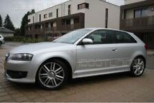 Audi A3 8P Seitenschweller Schweller Spoiler Seitenleisten S3-Look