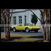 #pha.008691 Photo DE TOMASO PANTERA 1971-1972 Car Auto