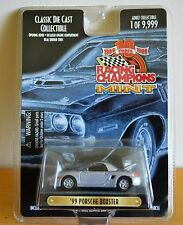 RACING CHAMPIONS MINT CLASSIC DIE CAST COLLECTIBLE GREY 1999 PORCHE BOXTER