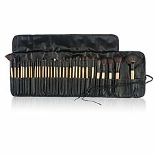 Professional 32Pcs Makeup Brush Set Soft Cosmetic Eyebrow Brush + Pouch Bag