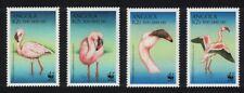 Angola Birds WWF Lesser Flamingo 4v MNH SG#1402-1405 MI#1321-1324 SC#1058 a-d