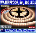 Waterproof Warm White DC 12V 5M 3528 SMD 300 Leds LED Strips Strip Light Dimmer