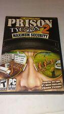 Prison Tycoon 2: Maximum Security (PC, 2006)
