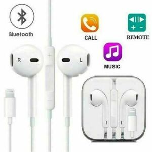 For Apple iPhone XR XS MAX, 7 8Plus, 11 PRO MAX  Bluetooth Earphones with mic