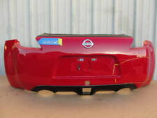 762035. Nissan 370Z 09-18 Rear Back Bumper Cover Red Color W/O Nismo  OEM